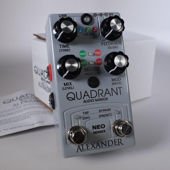 Alexander Quadrant Delay Pedal - Novo Garantia, Nota Fiscal
