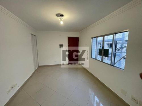 Apartamento À Venda, 64 M² Por R$ 268.000,00 - Aparecida - Santos/sp - Ap7174