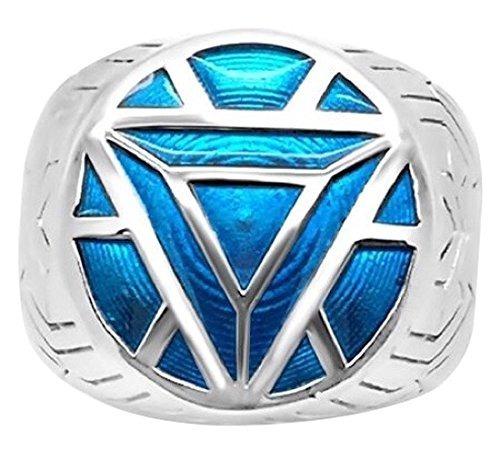 Anillos Para Hombre Menøs Iron Man Ring - 12 - Turquoise