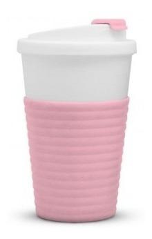 Vaso Térmico My Cup Tapa Anti Vuelco Reutilizable Bpa Free