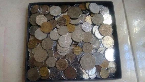 300 Moedas Antigas (prata,bronze,níquel,aço)