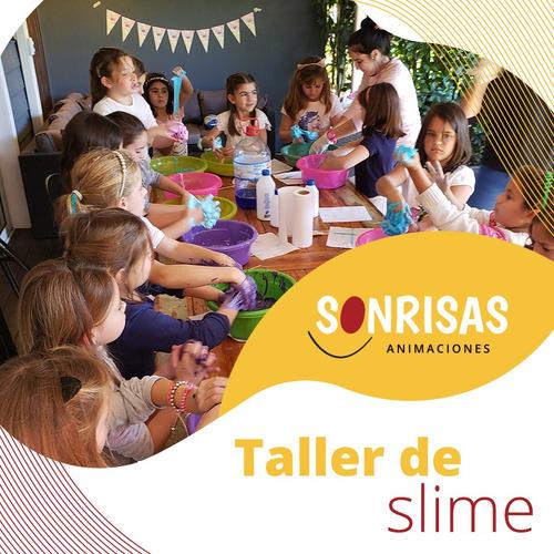 Imagen 1 de 10 de Animaciones Slime Party! !! Talleres Slime - Pop It Furor!!!