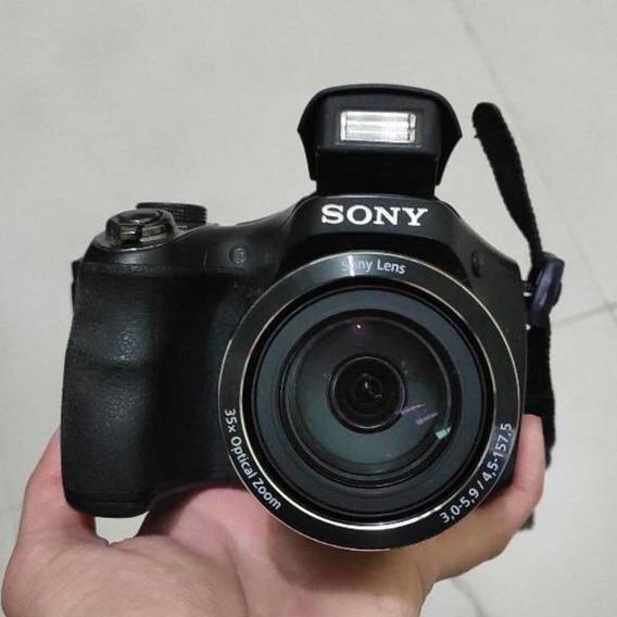 Câmera Profissional Sony Cybershot Dsc H 300