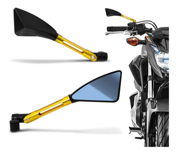 Retrovisor Moto Hornet Bandit Mt03 M07 Mt09 Xj6 Mod 4