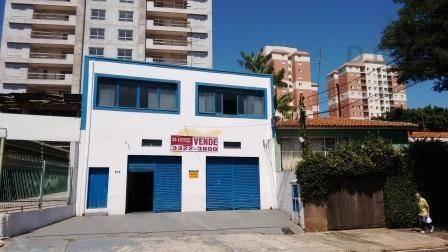 Salão Comercial À Venda, Jardim Brasil, Campinas - Sl0473. - Sl0473