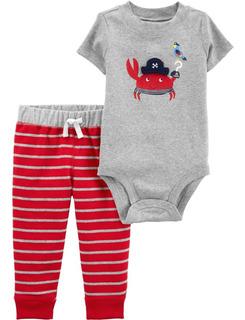 Carters Conjunto 2 Piezas Body Pantalon Bebe 9 Meses