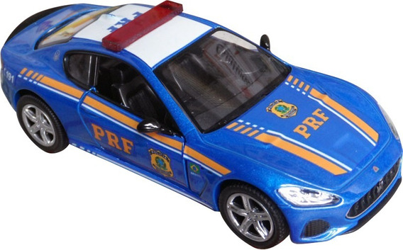 Miniatura Maserati Gt - Prf Polícia Rodoviária Federal