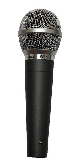 Microfone Profissional Dinamico Com Cabo De 5 Metros