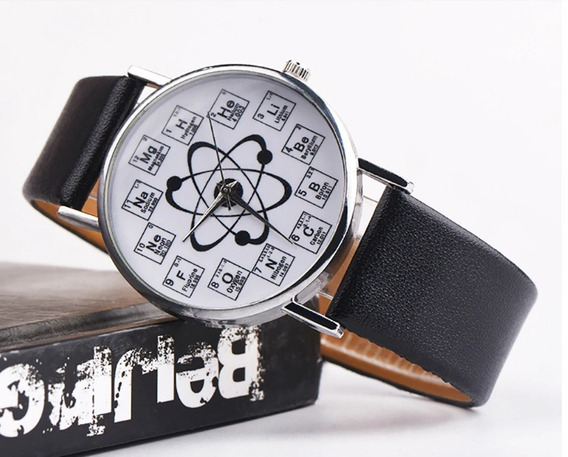 Relógio Feminino - Personalizado - Átomos - Frete Gratis