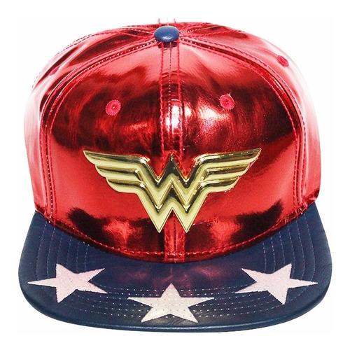 Imagen 1 de 5 de Gorra De Wonder Woman O Mujer Maravilla