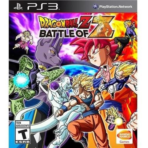 Jogo Dragon Ball Battle Of Z - Ps3 Mídia Física