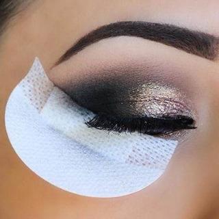 Parches Sin Gel Extensiones Pestañas Maquillaje 30 Pzs Full