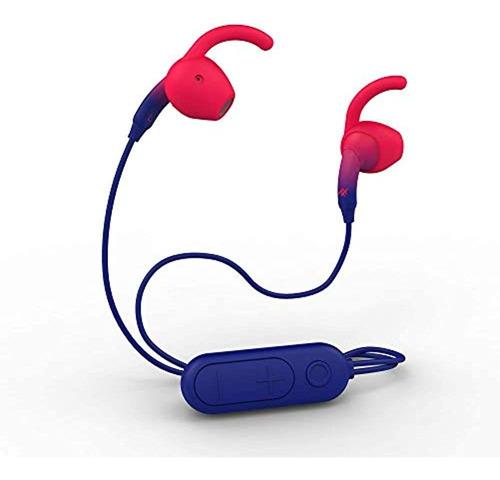 Imagen 1 de 5 de Auriculares De Tono Ifrogz Sound Hub - Azul Marino / Rojo