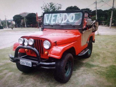 Jeep Willys Ford 4x4 Conversivel