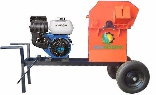 Picadora Forraje 3000 Ecomaqmx Motor Hyundai 13 Hp