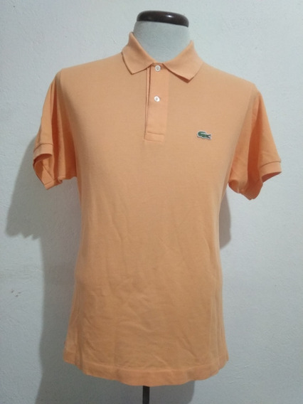 Camisa Lacoste Color Melón - Naranja Casuals Style