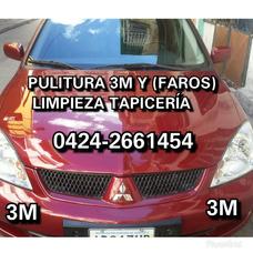 Servicio Pulitura 3m Limpieza Tapicería Faros