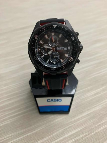Casio Sq600 Cronógrafo Black Edition