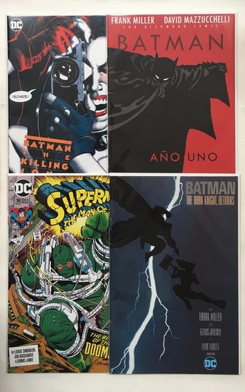 Batman/superman 4 Cómics Conmemorativos Ed. Televisa Lote