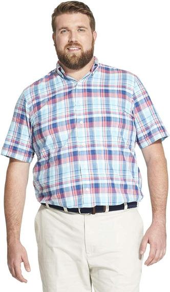 Camisa Manga Corta Izod 4xl 5xlt Algodon Envio Gratis
