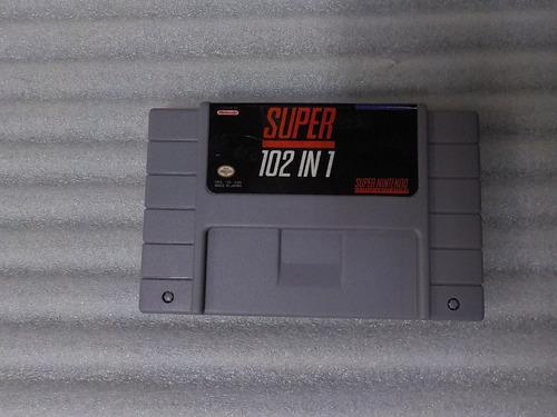 Imagen 1 de 8 de 102 In 1 Juegos De Super Nintendo, Cartucho Para Consola