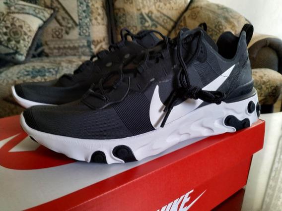 Nike Element React 55 Black Talla 27, Nuevos Y Originales