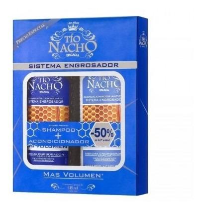 Tio Nacho Monoestuche Engrosador Shampoo + Acondicionador