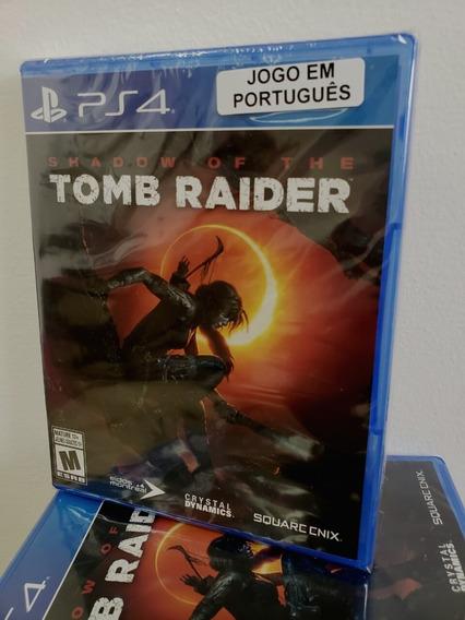 Ps4 Shadow Of Tomb Raider Mídia Física Novo Lacrado - Dublado Em Português
