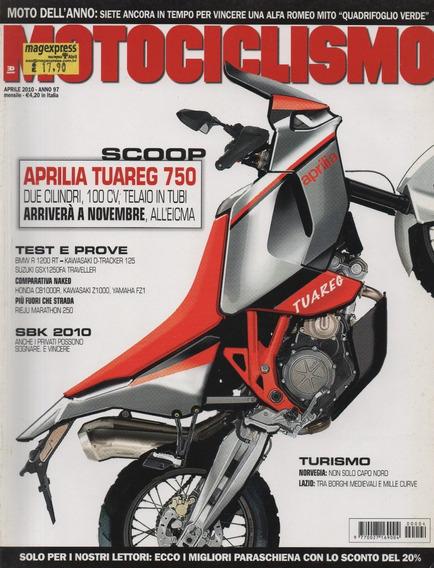 Motociclismo N°2659 Aprilia Tuareg 750 Kawasaki Z1000 Fz1