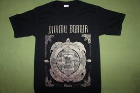 Gusanobass Playera Rock Metal Dimmu Borgir Black Talla Med
