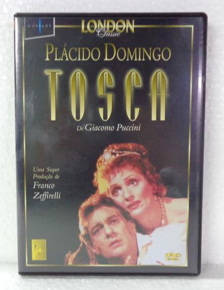 Dvd Plácido Domingo Tosca/ Lacrado/ Frete Grátis