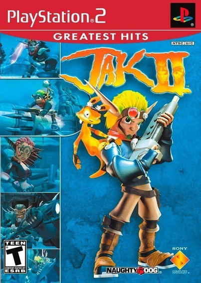Jak Ii 2 Greatest Hits Ps2 Game Original Mídia Física
