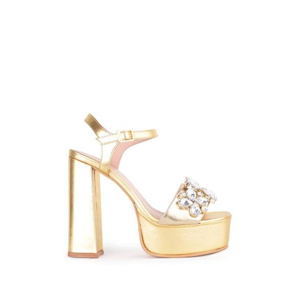 Sandalias Zapatos Fiesta De Mujer Lourdes - Ferraro -