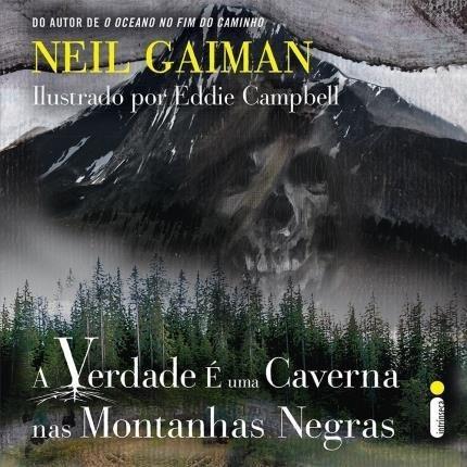 Livro Verdade É Uma Caverna Montanhas Negras - Neil Gaiman #