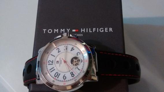 Relogio Tommy Hilfinger Original Automatico Na Caixa Movado