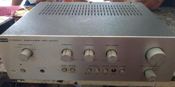 Amplificador Cce Stereo Sa-4040