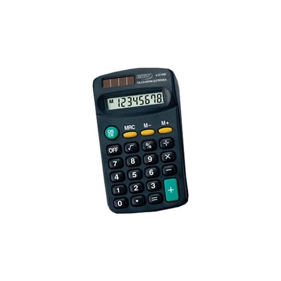 Calculadora De Bolso Pequena 08 Dígitos Cc1000 Brw 01un