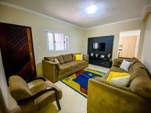 Imagem 1 de 30 de Casa Com 2 Dormitórios À Venda, 199 M² Por R$ 450.000 - Parque Oratório - Santo André/sp - Ca2812