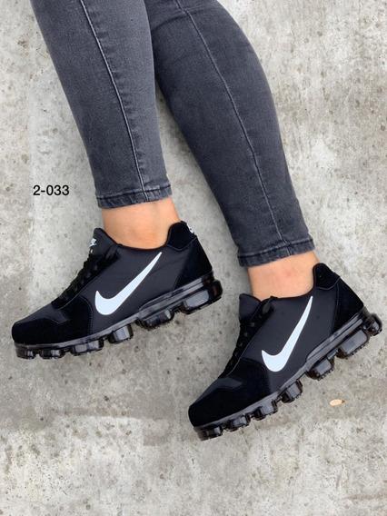 Tenis Zapatos Valvula Deportivo Hombre Mujer Negro Blanco N