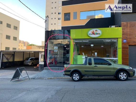 Salão Para Alugar, 130 M² Por R$ 3.300,00/mês - Tatuapé - São Paulo/sp - Sl0013