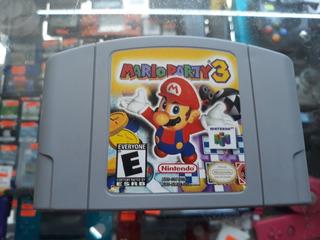 Mario Party 3 Para N64 ( Envio Gratis )