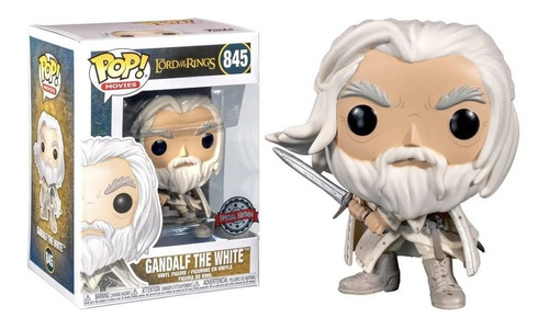 Funko Pop!! The Lord Of The Ring Gandalf The White # 845