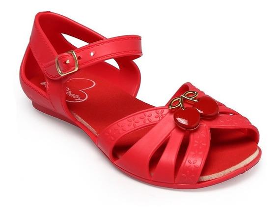 Sandália Bia Baby Vermelho Bl-196