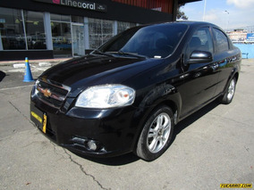 Chevrolet Aveo Emotion Mt 1600 Cc Sa 1ab