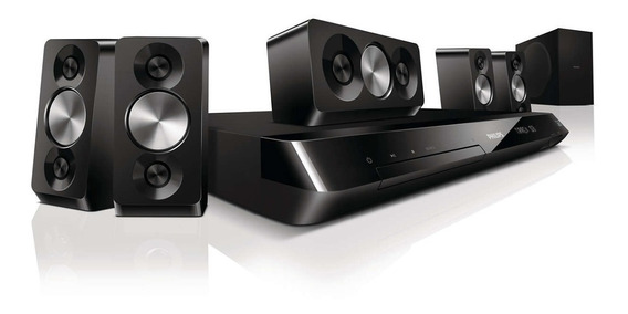 Home Theater Blu-ray 3d Philips Hts5563