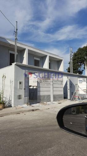 Imagem 1 de 11 de Lindo Sobrado Novo 100m² -  3 Dormitórios, Sendo 1 Suite Com Sacada No Jd. Prudencia! - Mr76082