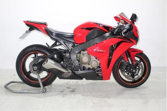 Honda Cbr 1000 Rr Fireblade 2008 Vermelha