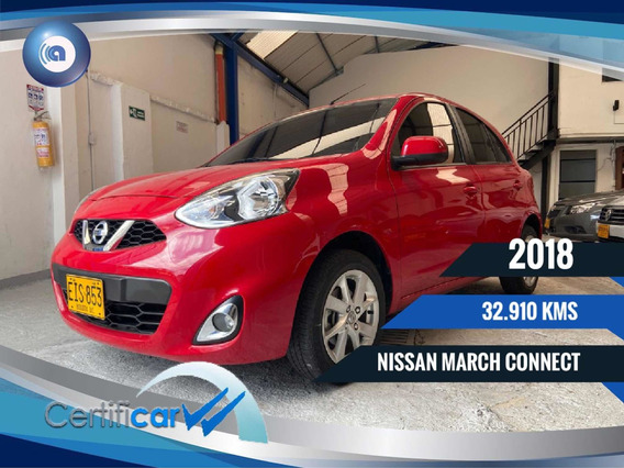 Nissan March Connect Financiamos