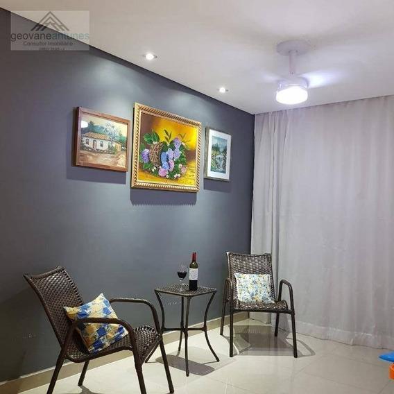 Apartamento Com 2 Dormitórios À Venda, 58 M² Por R$ 260.000,00 - Jardim Esmeralda - Limeira/sp - Ap0332