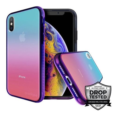 Case Para iPhone X - Xr - Xs Max Prodigee Safetee Flow